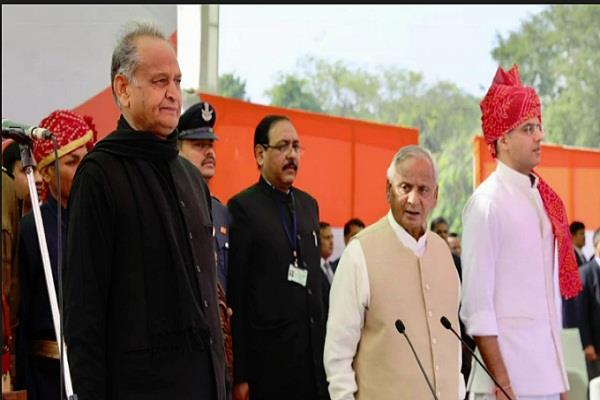 राजस्थान: गहलोत मंत्रिमंडल का विस्तार, 13 कैबिनेट और 10 राज्यमंत्रियों ने ली शपथ