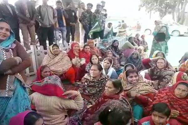 women did not get justice after the arrest of police commissioner s office