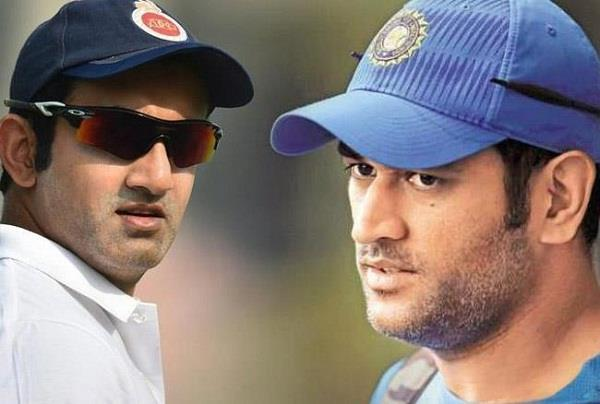 gautam gambhir questions on dhoni s decisions on the 2012 cb series