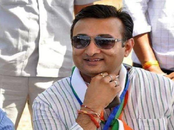 congress legislator said politics of dynasty snatched my right