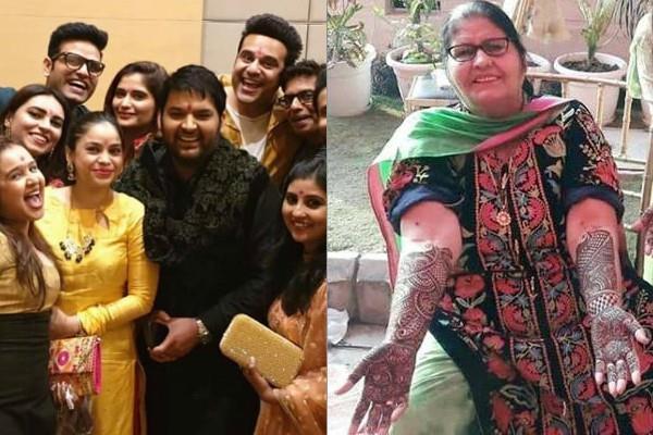 kapil sharma ginni chaitrath mehandi pictures