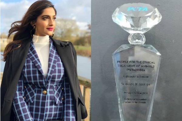 sonam kapoor peta india 2018 person of the year