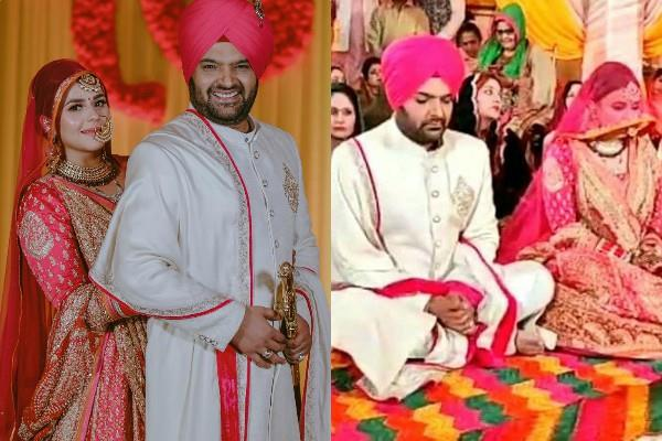 kapil sharma ginni chatrath wedding in gurudwara as per sikh rituals