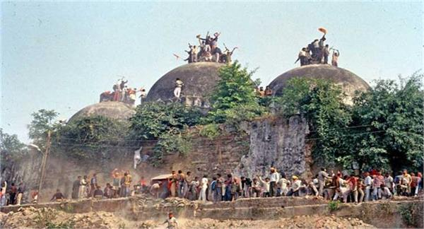 babri masjid demolition police force alert