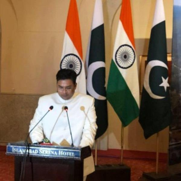 pok minister at saarc meet india walks out