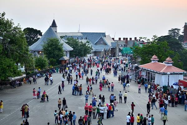 queen of the mountains arrivals witnessed once again in shimla tourist