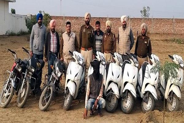 police arrested vehicle thief gang 1 arrested