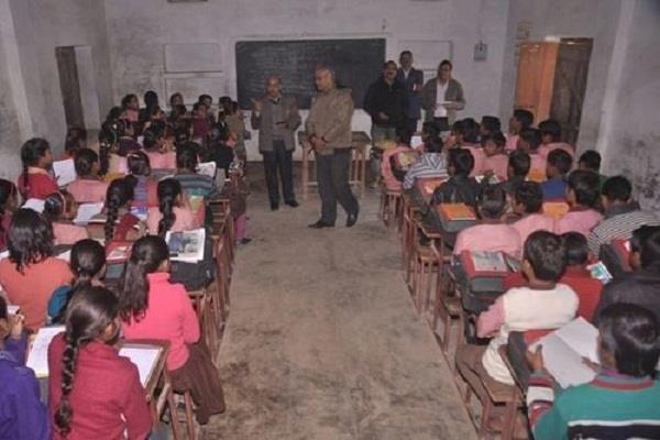 regular inspection of 14 school
