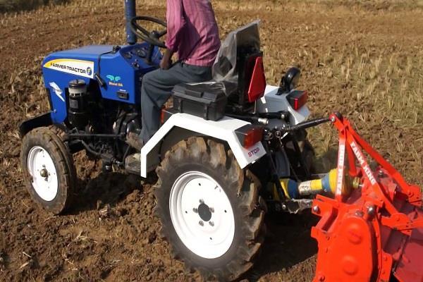 sales of growing mini tractors in haryana and punjab