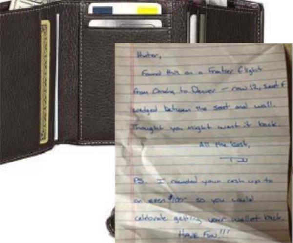 us man s lost wallet is returned in the post