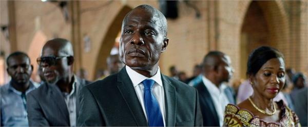 congo election voting for presidential election among fear