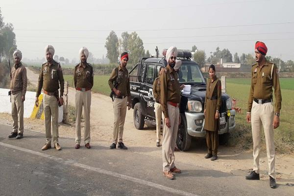 police raising security in view of rajasthan elections ssp