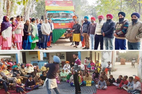 c h c bham h v covering 6 villages under public awareness campaign