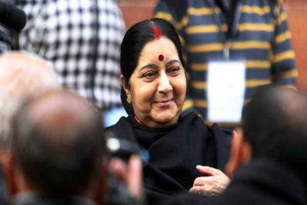 sushma swaraj s one tweet save life of indian woman in bahrain