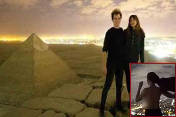 egypt investigating after couple ignites controversy with nude photos