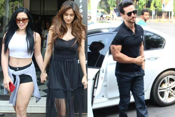 disha patani lunch date with boyfriend tiger shroff and krishna shroff