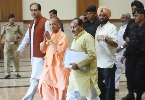 cm yogi s cabinet meeting today