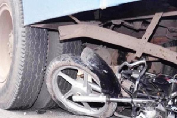 truck and bike rampant death on 2 occasions