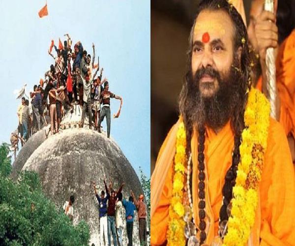 saints will make ram temple in ayodhya now narendranand saraswati