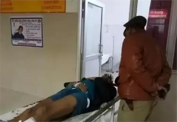 encounter between police and gangsters in kanpur