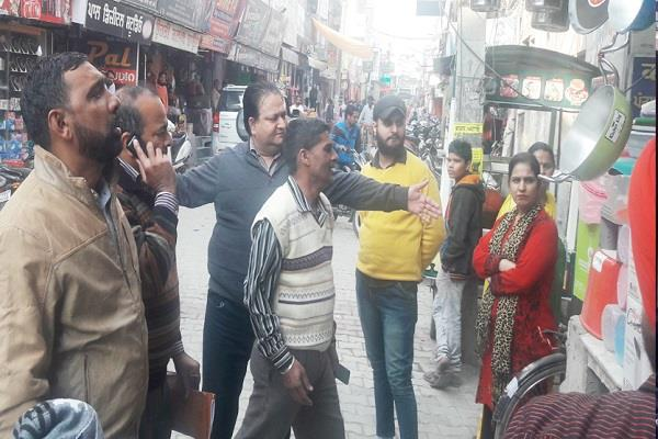 illegal encroachment removed major markets second day