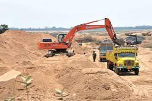 illegal excavation of the sand mafia the laggard