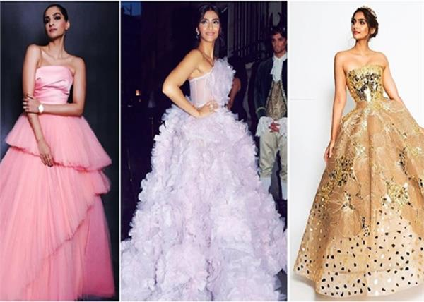 8 gown of sonam kapoor for reception