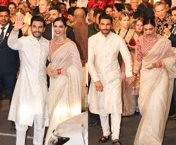 deepveer at isha ambani wedding