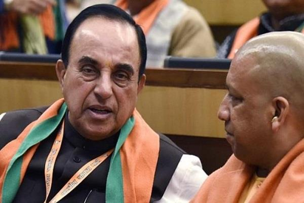 subramaniam swami give warning to government about ram mandir