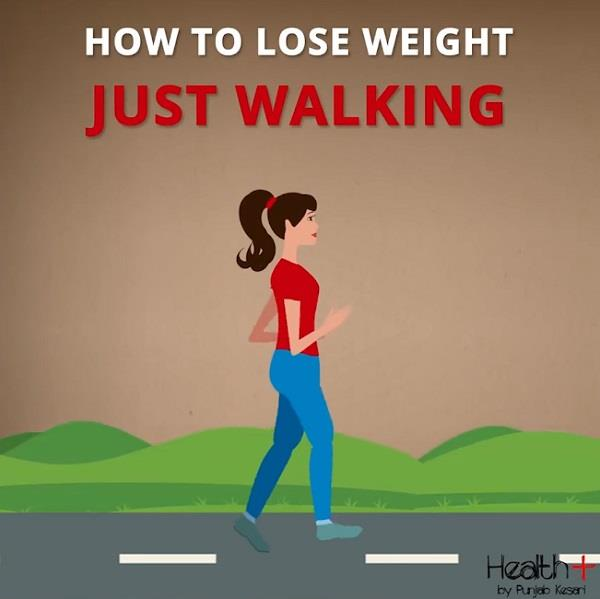 how to lose weight just walking