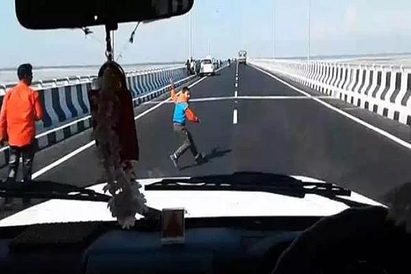 road accident on bogibeel bridge