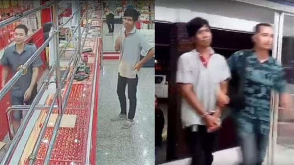 jewelery shop owner will teach lesson to thief watch video