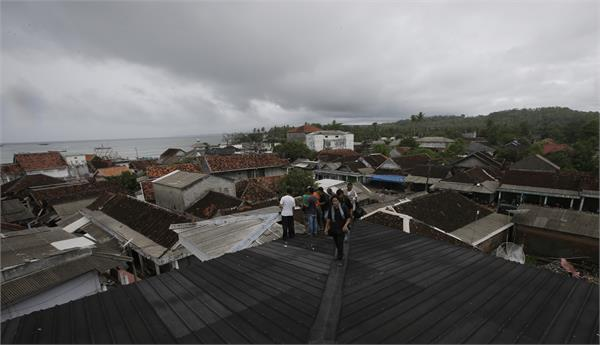 indonesian administration asked people to stay away from the coast