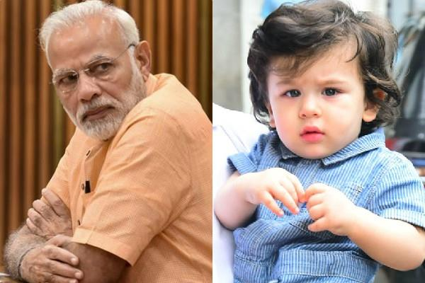 taimur ali khan entry in most polular celebrity list