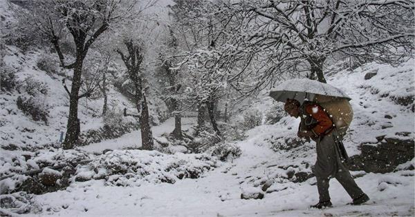 snowfall in kashmir on 18 december