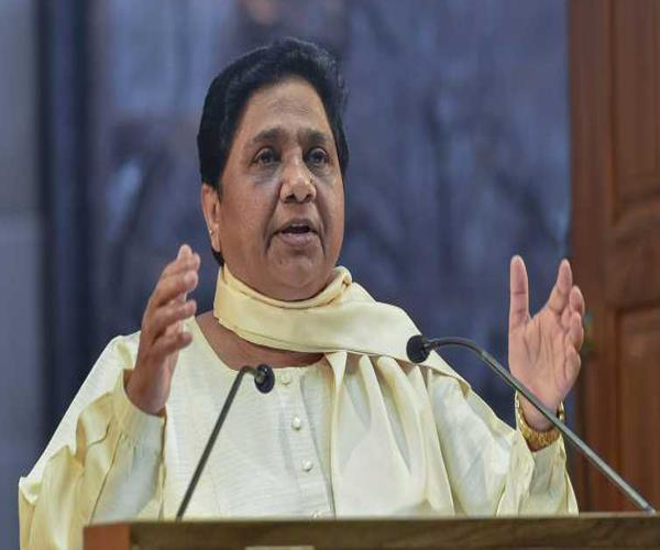 lawmakers of the law are becoming victims of lawlessness in bjp rule mayawati