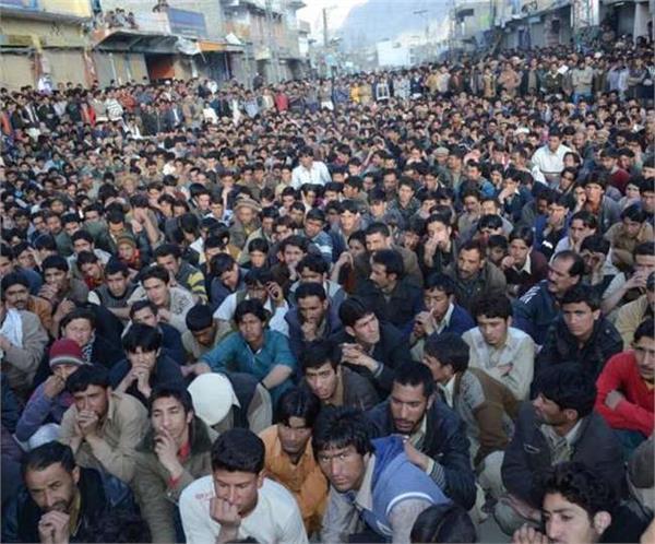 massive protest against pakistan in hunza gilgit baltistan