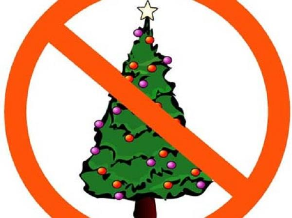 chinese city hast banned christmas