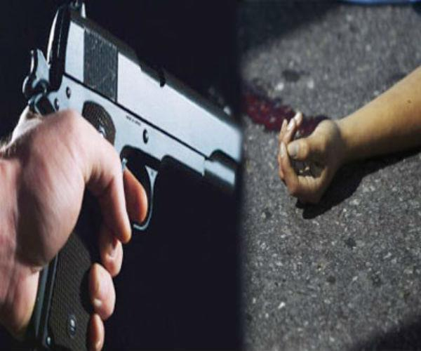 two youths going on foot in noida were shot dead by gangsters