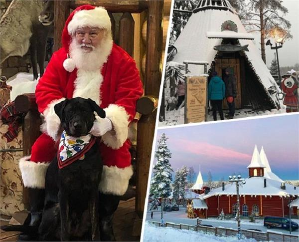 Merry Christmas: बेहद खूबसूरत है सेंटा क्लॉज का गांव, जरूर करें यहां की सैर