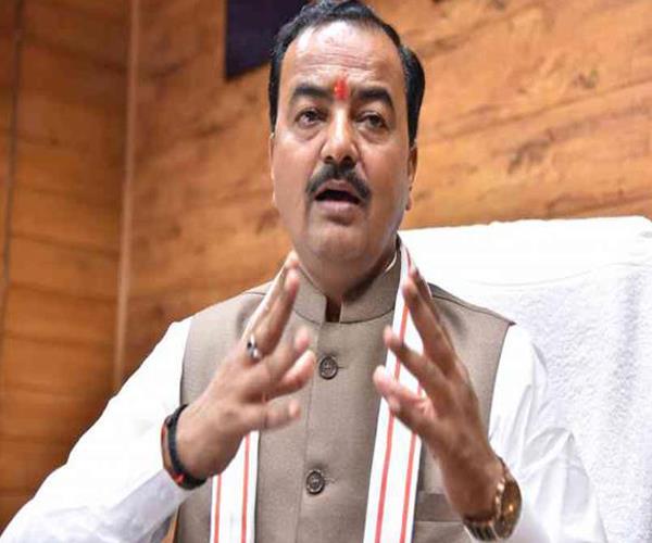 bjp gives top priority to construction of ram temple keshav maurya