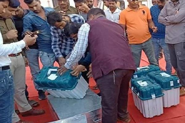 ec clears clear of evms
