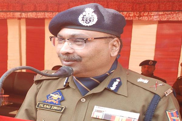 militant module has links outside the state said dgp