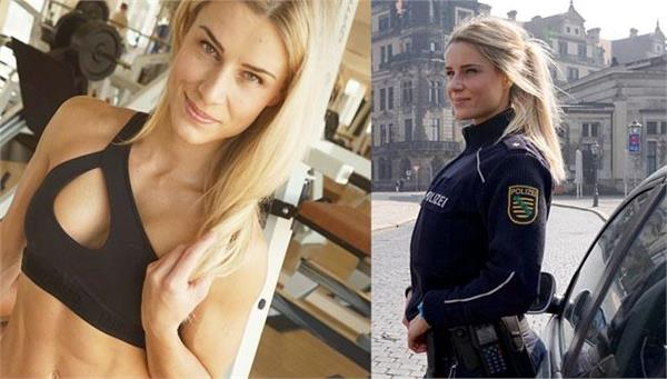 woman dubbed  most beautiful  police officer told to quit instagram