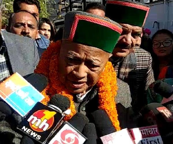 virbhadra singh reaction to kaul singh statement