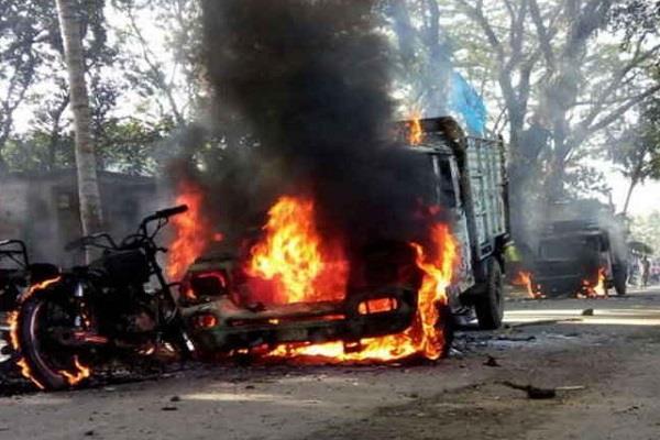naxalite assault jindal company contractor s throat slaying