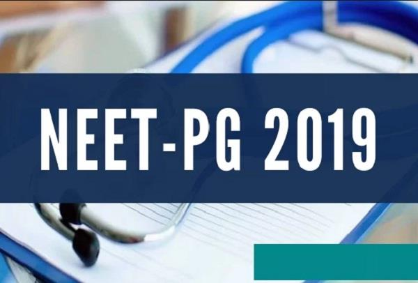 neet pg admit card 2019 released