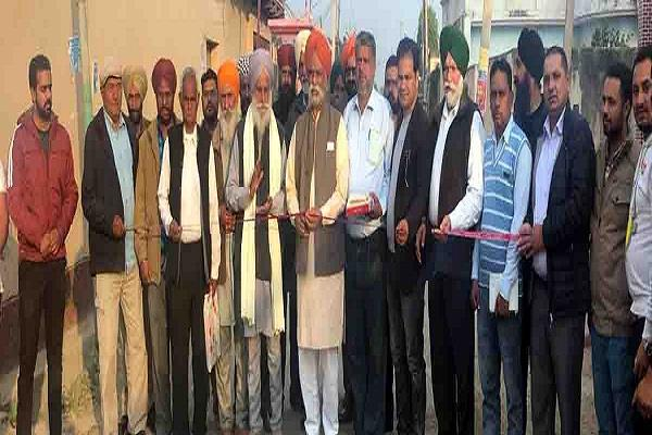 mann launches construction work of dumeli musaipur link road