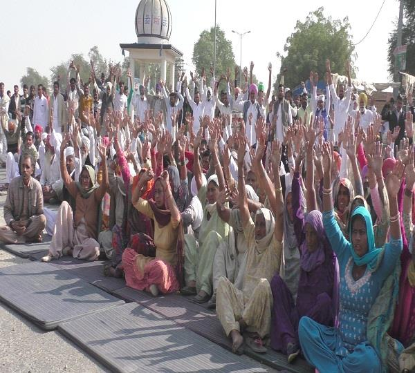protest against dowry