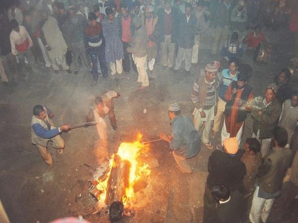old diwali preparations rural